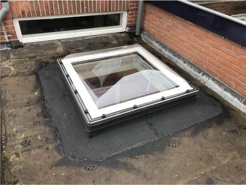 Hendriks Dak & Geveltechiek - Lichtkoepel plat dak